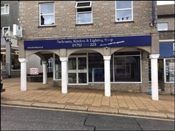 628 SF High Street Shop for Rent  |  Unit 4, Regal House, Saltash, PL12 6JR