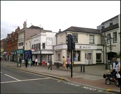 598 SF High Street Shop for Rent  |  Unit 2, Spread Eagle Walk, Epsom, KT19 8DN