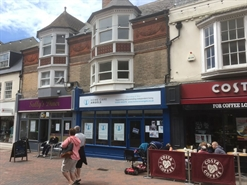 690 SF High Street Shop for Rent  |  98 St Mary Street, Weymouth, DT4 8NY