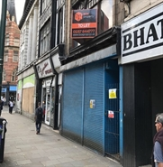 752 SF High Street Shop for Rent  |  18 Carrington Street, Nottingham, NG1 2JF