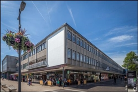 2,550 SF High Street Shop for Rent  |  74 - 76 Queensway, Stevenage, SG1 1EG
