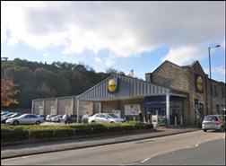 12,192 SF High Street Shop for Rent  |  Lidl, Todmorden, OL14 5QG
