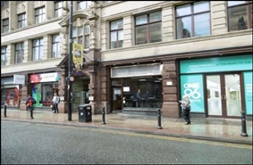 691 SF High Street Shop for Rent  |  194 Deansgate, Manchester, M3 3ND