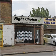 1,001 SF High Street Shop for Rent  |  249 Hertford Road, Enfield, EN3 5JJ