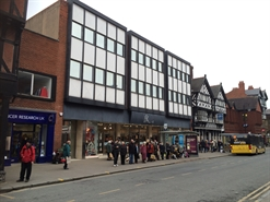 6,500 SF High Street Shop for Rent | Unit B, 39-45 Foregate Street, Chester, CH1 1HW