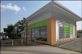 900 SF High Street Shop for Rent  |  New Development The Parade, Newton Aycliffe, DL5 4DH