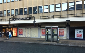 1,925 SF High Street Shop for Rent  |  35-37 Market Street, Halifax, HX1 1PB