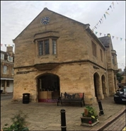 648 SF High Street Shop for Rent  |  The Old Town Hall, Oundle, PE8 4BA