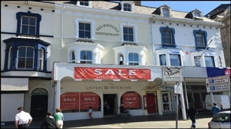 1,274 SF High Street Shop for Rent  |  3 Gloddaeth Street, Llandudno, LL30 2NA