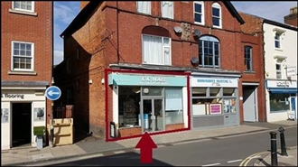443 SF High Street Shop for Rent  |  16 Worcester Road, Bromsgrove, B61 7AE