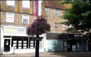 670 SF High Street Shop for Rent  |  Grand Parade, Crawley, RH10 1BU