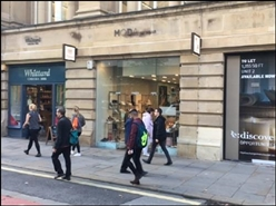 600 SF High Street Shop for Rent  |  The Royal Exchange, Manchester, M1 1PT