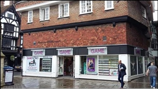 1,068 SF High Street Shop for Rent  |  15 Oatmeal Row, Salisbury, SP1 1TH
