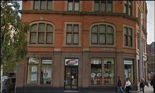 721 SF High Street Shop for Rent  |  49 Upper Parliament Street, Nottingham, NG1 2AB