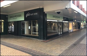 1,480 SF Shopping Centre Unit for Rent  |  39 - 41 High Street, Scunthorpe, DN15 6SX