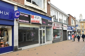 1,350 SF High Street Shop for Rent  |  9 Market Street, Barnsley, S70 1SL