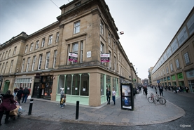 486 SF High Street Shop for Rent  |  11- 13 Clayton Street, Newcastle upon Tyne, NE1 7XW