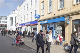 1,205 SF High Street Shop for Rent  |  223 High Street, Cheltenham, GL50 3HH