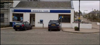 1,992 SF High Street Shop for Rent  |  Former Bank, Lairg, IV27 4AR