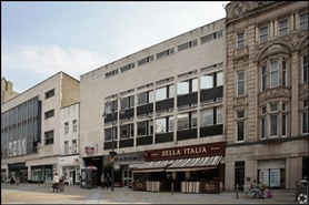 740 SF High Street Shop for Rent  |  Unit 8, Central Arcade, Leeds, LS1 6DX