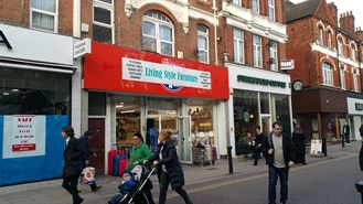 1,109 SF High Street Shop for Rent  |  34-36 Powis Street, Woolwich, SE18 6LF