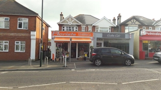 240 SF High Street Shop for Sale  |  1073 Christchurch Road, Bournemouth, BH7 6BE
