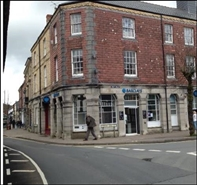 715 SF High Street Shop for Rent  |  1 Great Oak Street, Llanidloes, SY18 6EQ