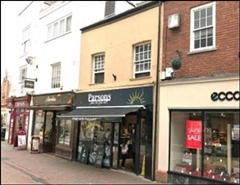 318 SF High Street Shop for Rent  |  51 The Shambles, Worcester, WR1 2RE