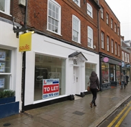 990 SF High Street Shop for Rent  |  242 High Street, Guildford, GU1 3JD