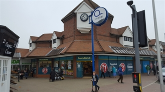 2,627 SF Shopping Centre Unit for Rent  |  Unit 13-14 the Quintins Shopping Centre, Hailsham, BN27 1DP