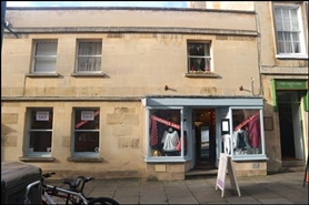 398 SF High Street Shop for Sale  |  12 Margaret'S Buildings, Bath, BA1 2LP