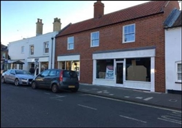 700 SF High Street Shop for Rent  |  Unit 2, Southwold, IP18 6AD