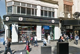 995 SF High Street Shop for Rent  |  5 6 Coventry Street, London, W1D 6BW