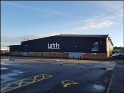 25,442 SF Out of Town Shop for Rent  |  Former: Latifs, Stoke On Trent, ST6 2QB