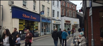 1,116 SF High Street Shop for Rent  |  256 High Street, Bangor, LL57 1PA