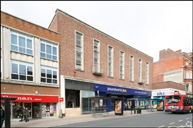 4,828 SF High Street Shop for Rent   181 Fore Street, Exeter, EX4 3AX