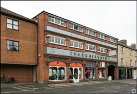 450 SF High Street Shop for Rent  |  The Courtyard, Taunton, TA1 1JR