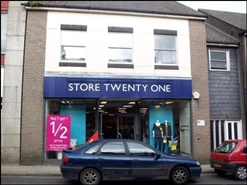 1,821 SF High Street Shop for Rent  |  29 Trelowarren Street, Camborne, TR14 8AD