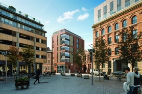 3,382 SF High Street Shop for Rent | Cotton Square, Ancoats, Manchester, M4 5DH