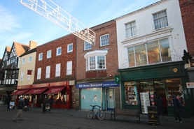 775 SF High Street Shop for Rent  |  25 High Street, Salisbury, SP1 2NJ