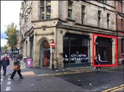 4,705 SF High Street Shop for Rent  |  Queens Chambers, Manchester, M4 6EQ