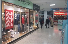 1,697 SF Shopping Centre Unit for Rent | Unit 4, The Alhambra Shopping Centre, Barnsley, S70 1SB
