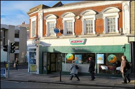 510 SF High Street Shop for Rent  |  18 North Street, Guildford, GU1 4AF