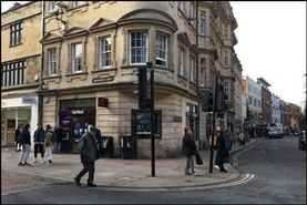 2,639 SF High Street Shop for Rent  |  32 Cornmarket Street, Oxford, OX1 3ES