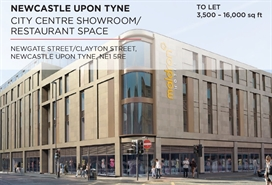 16,000 SF High Street Shop for Rent  |  15/23 Newgate Street, Newcastle Upon Tyne, NE1 5RB