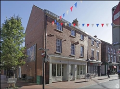 436 SF High Street Shop for Rent  |  32 - 34 Bird Street, Lichfield, WS13 6PR
