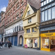 924 SF High Street Shop for Rent  |  11 Bridlesmith Gate, Nottingham, NG1 2GN