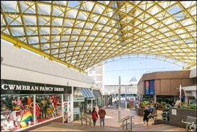 400 SF Shopping Centre Unit for Rent  |  Powys House, Cwmbran, NP44 1PR