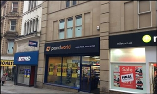 4,079 SF High Street Shop for Rent  |  51 - 53 Kirkgate, Bradford, BD1 1PZ