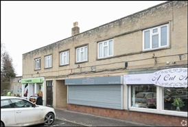 580 SF High Street Shop for Rent  |  3 Elm Tree Avenue, Radstock, BA3 3SX
